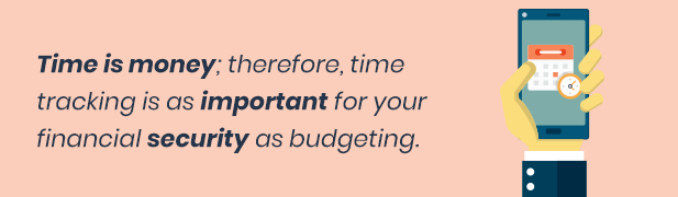 Time tracking is important for entrepreneurs.