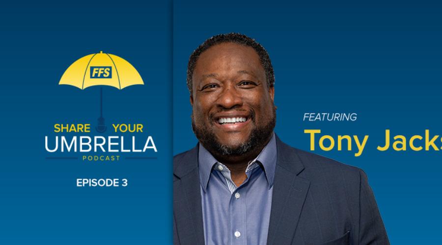 Share Your Umbrella: A Conversation with Tony Jackson