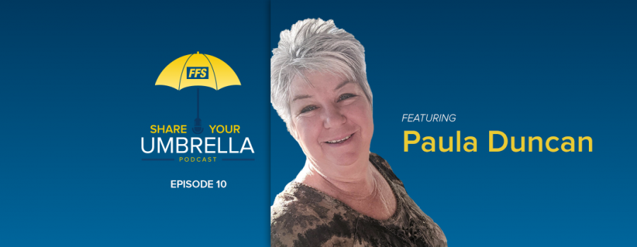 Share Your Umbrella Podcast: A Conversation with Paula Duncan